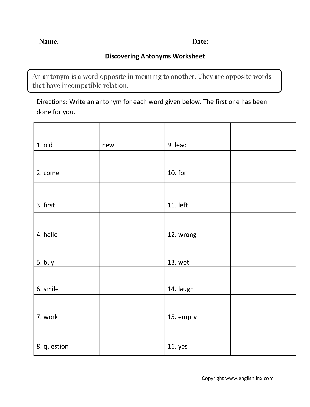 1st Grade Worksheet Category Page 46