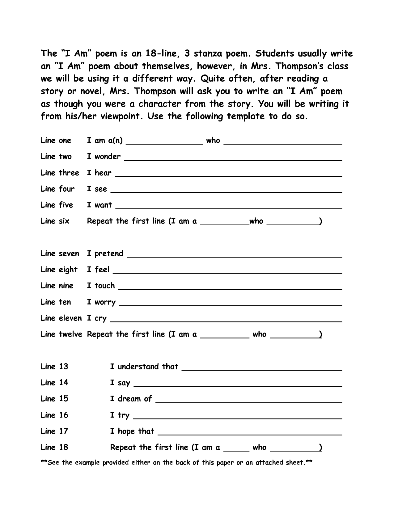 19 Best Images Of Sonnet Outline Worksheet