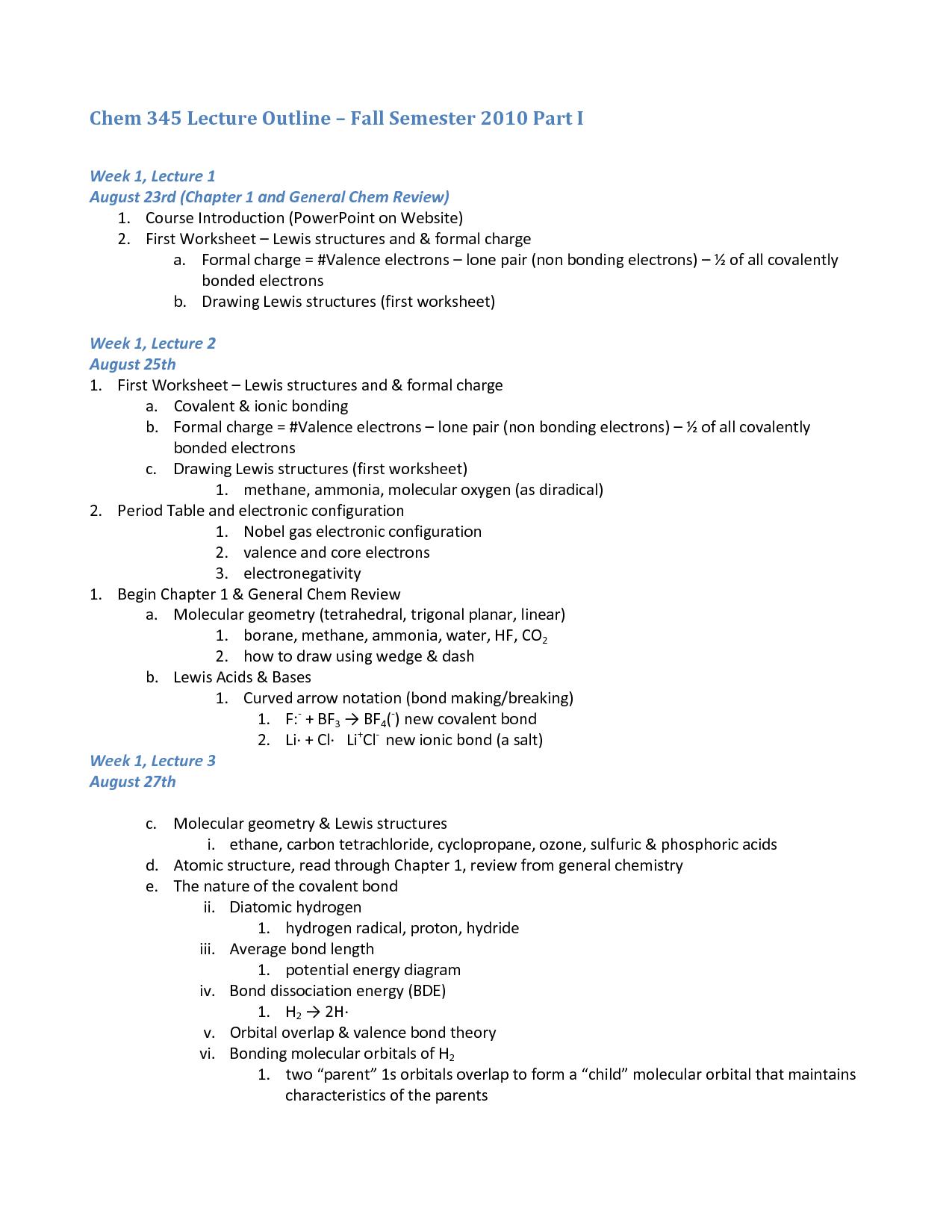 Worksheet Functional Groups Organic Chemistry