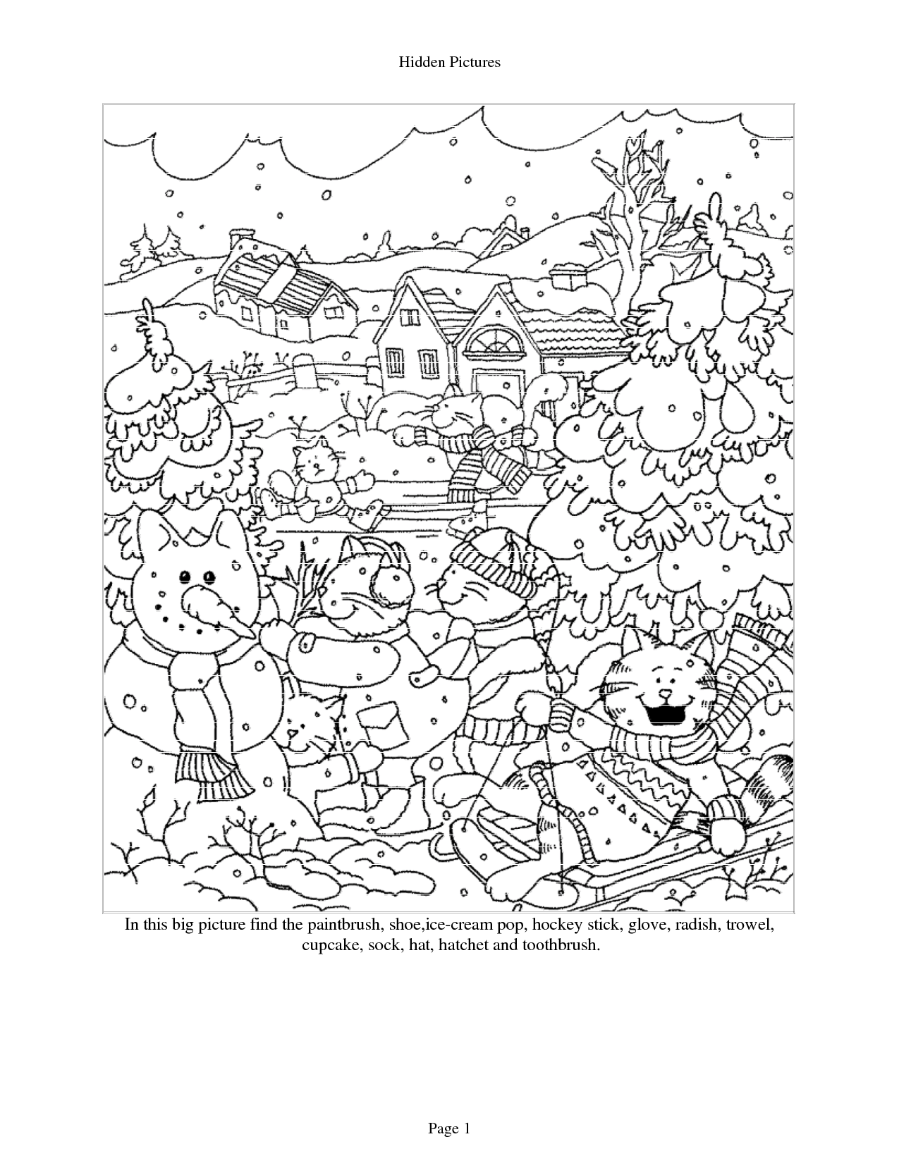 Puzzle Worksheet Middle School