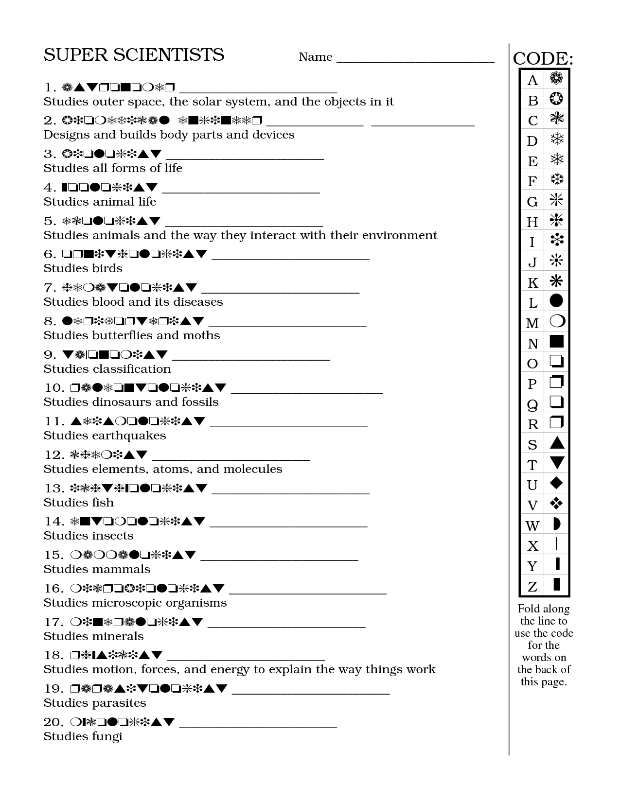 34 Super Teacher Worksheet Answer Key
