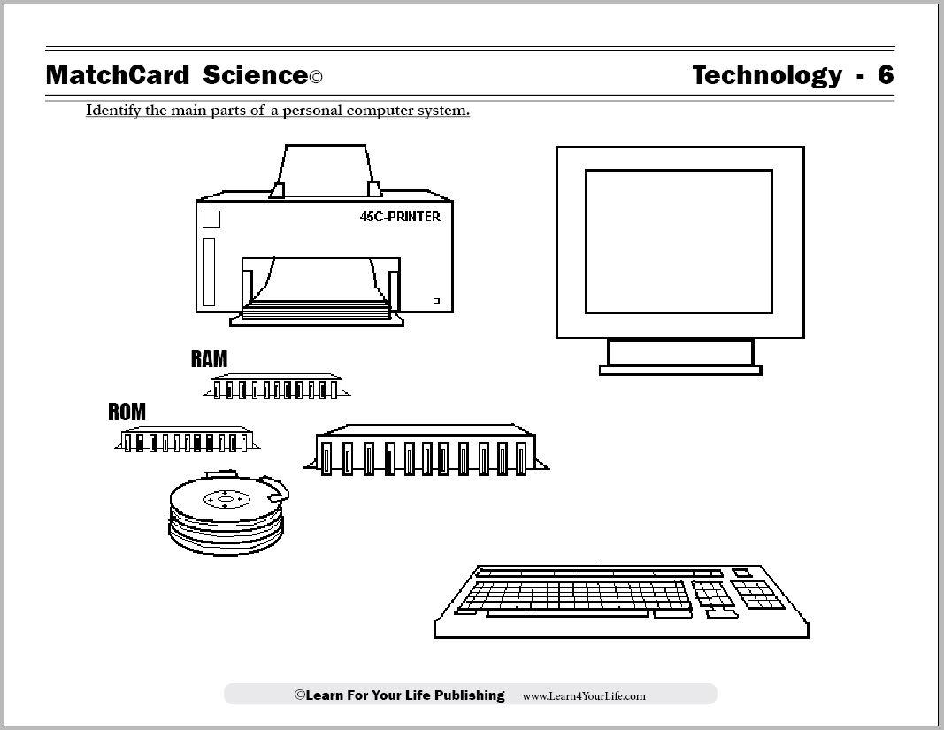 14 Best Images Of Kindergarten Computer Worksheets