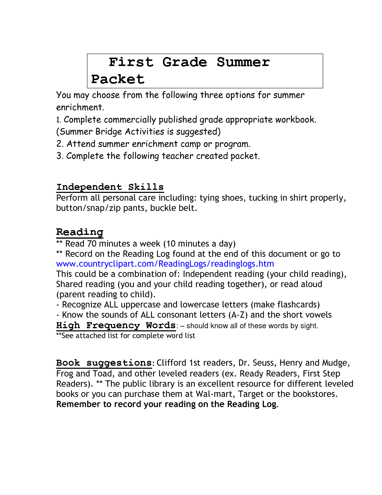 18 Best Images Of 1st Grade Reading Worksheets Packet
