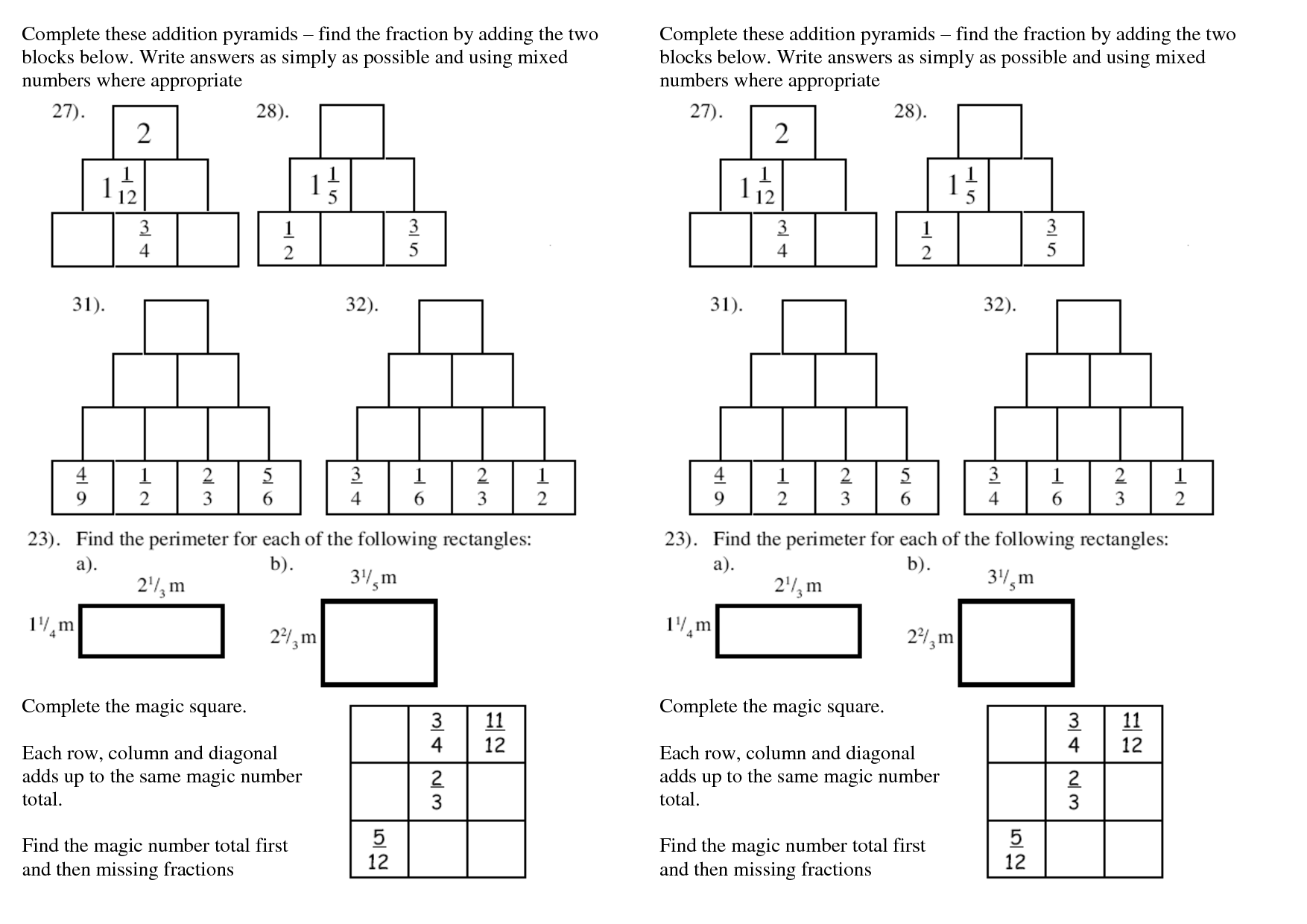 15 Best Images Of Addition Pyramid Worksheet