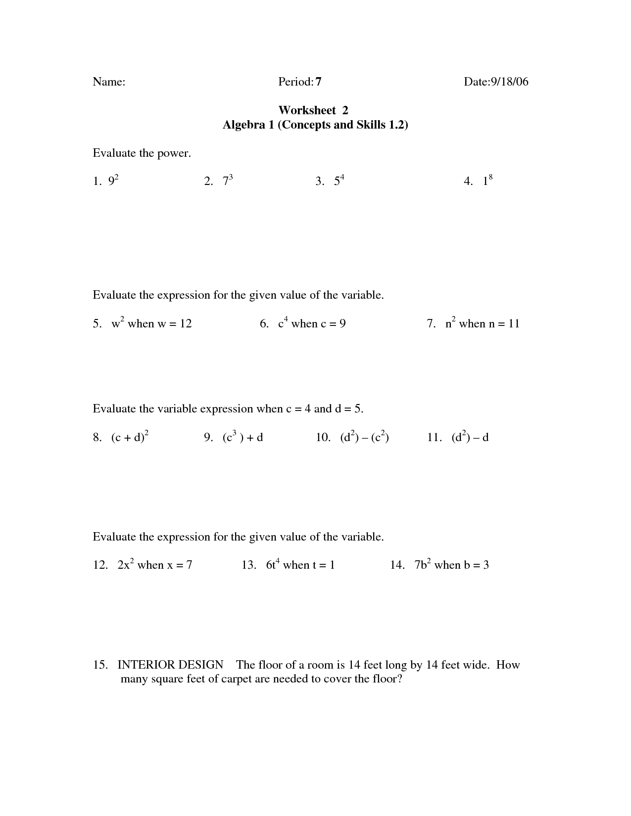 19 Best Images Of 5th Grade Estimation Worksheets