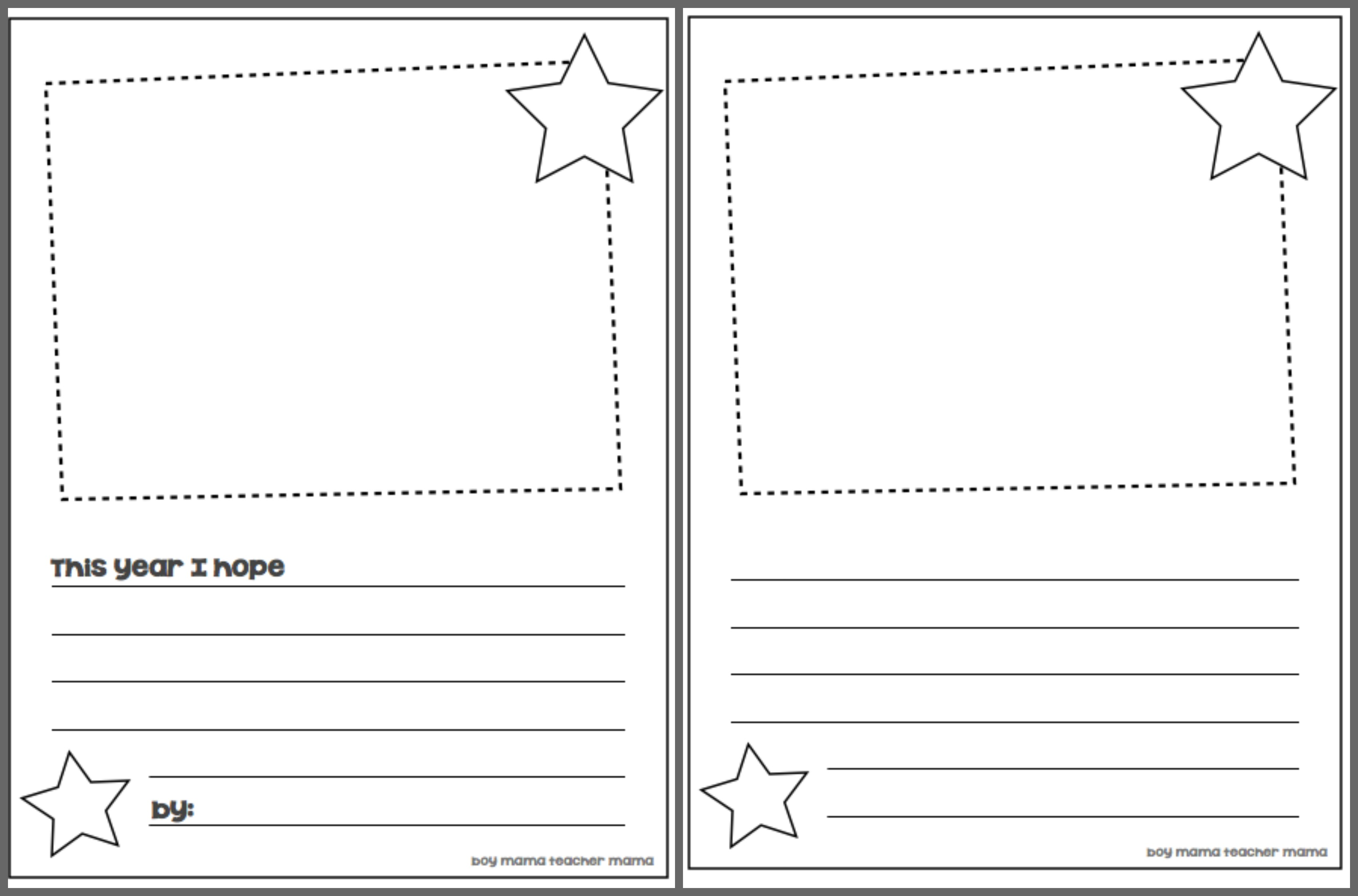14 Best Images Of Writing Templates 1st Grade Worksheet
