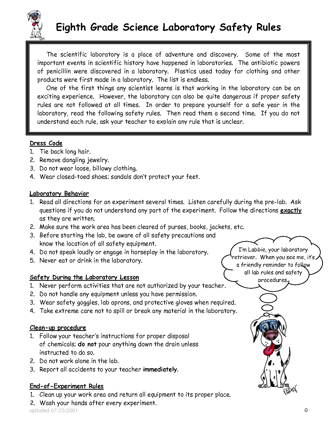 Safety Rules Worksheet For Kindergarten