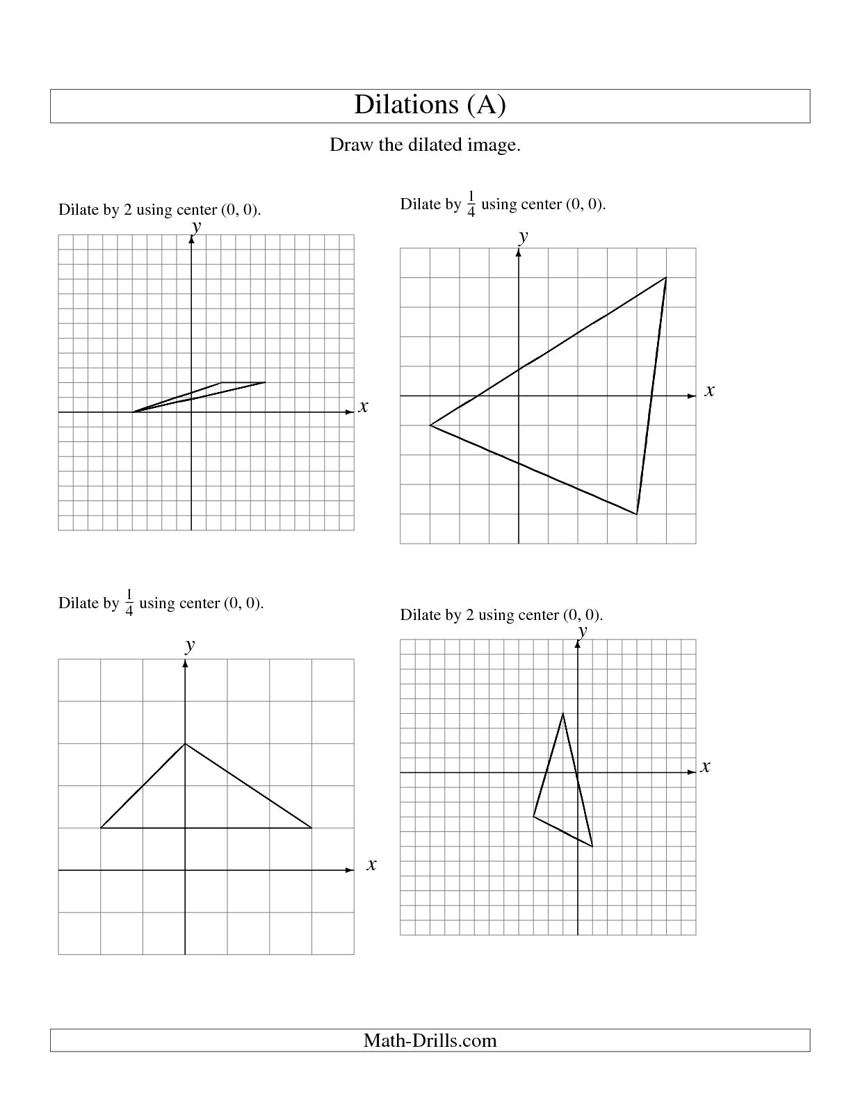 13 Best Images Of Reflections And Translations Math