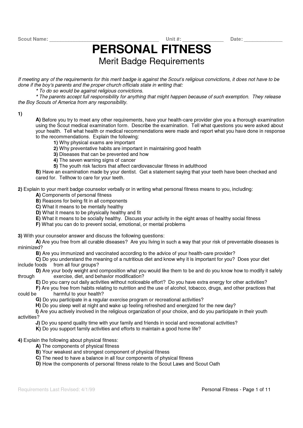 5 Best Images Of Boy Scout Merit Badge Worksheets Merit