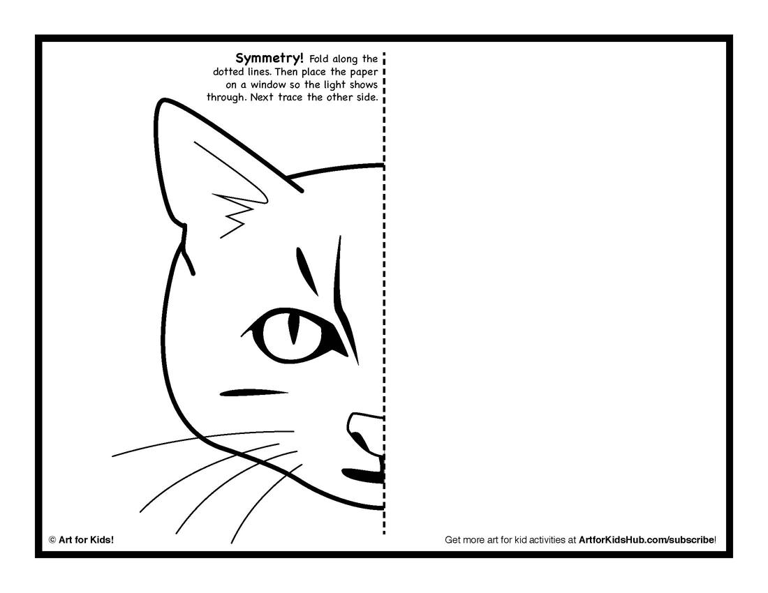 Mirror Image Drawing Worksheets