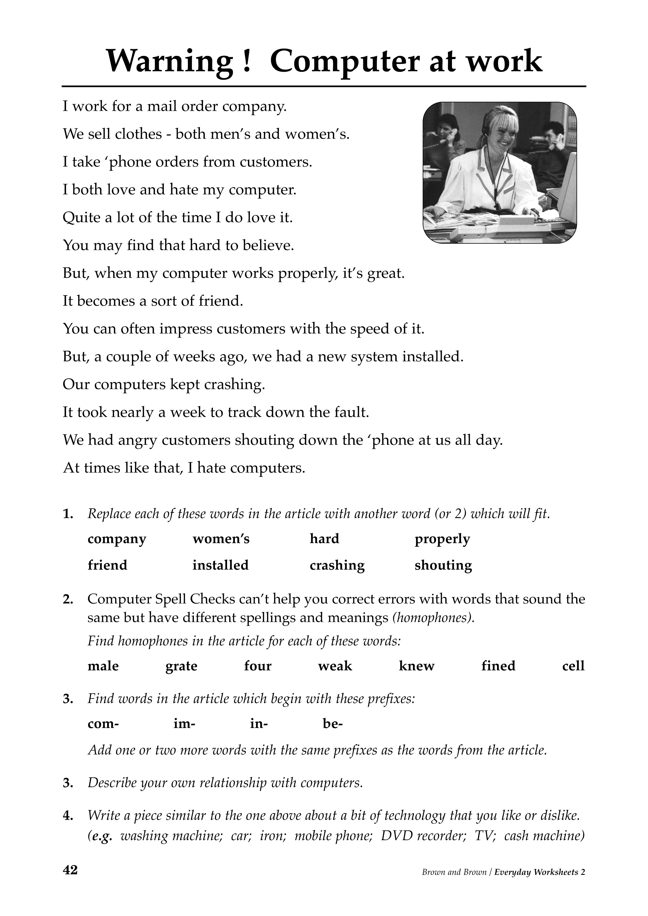18 Best Images Of Adult Literacy Worksheets Reading