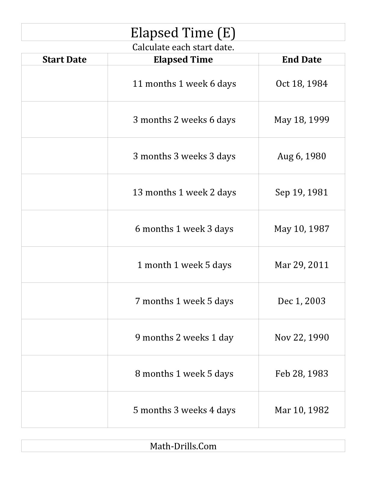 17 Best Images Of Learn The Months Worksheet