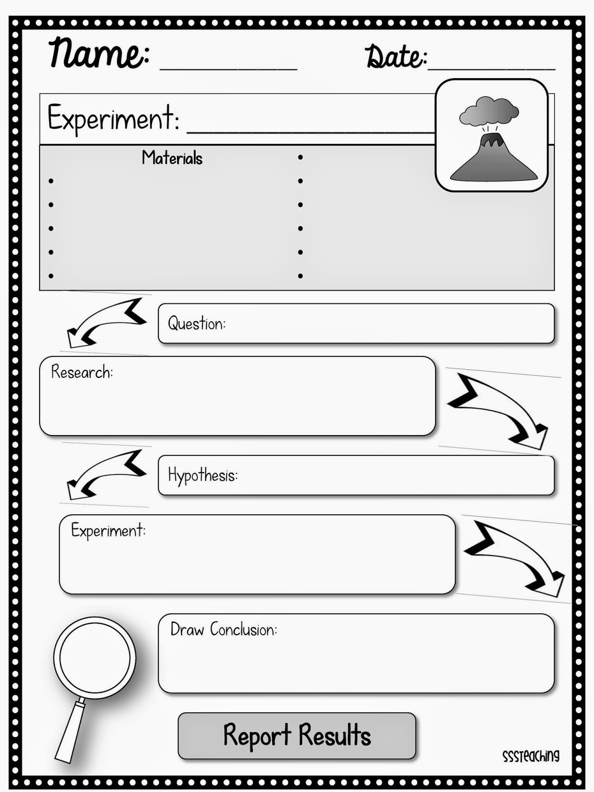 19 Best Images Of Second Grade Scientific Method Worksheet