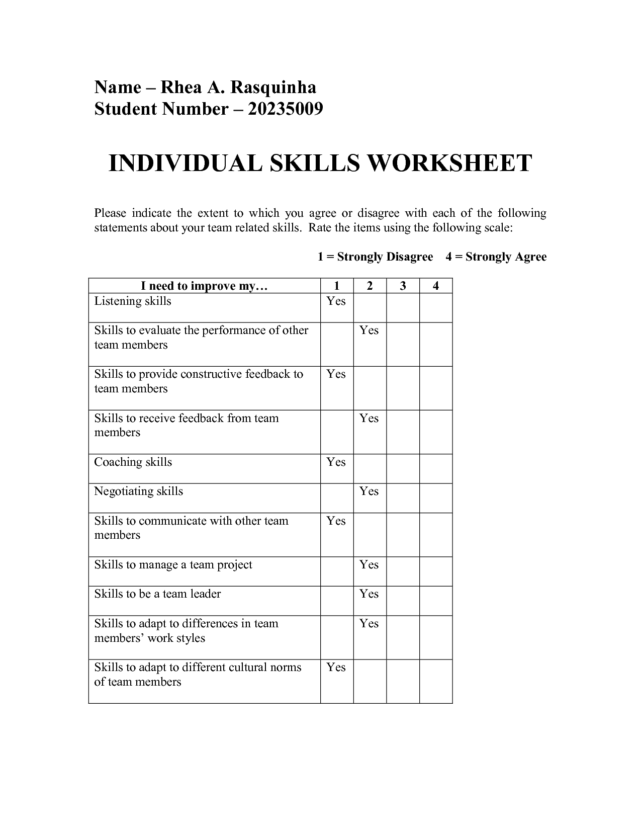 16 Best Images Of Positive Printable Worksheets On