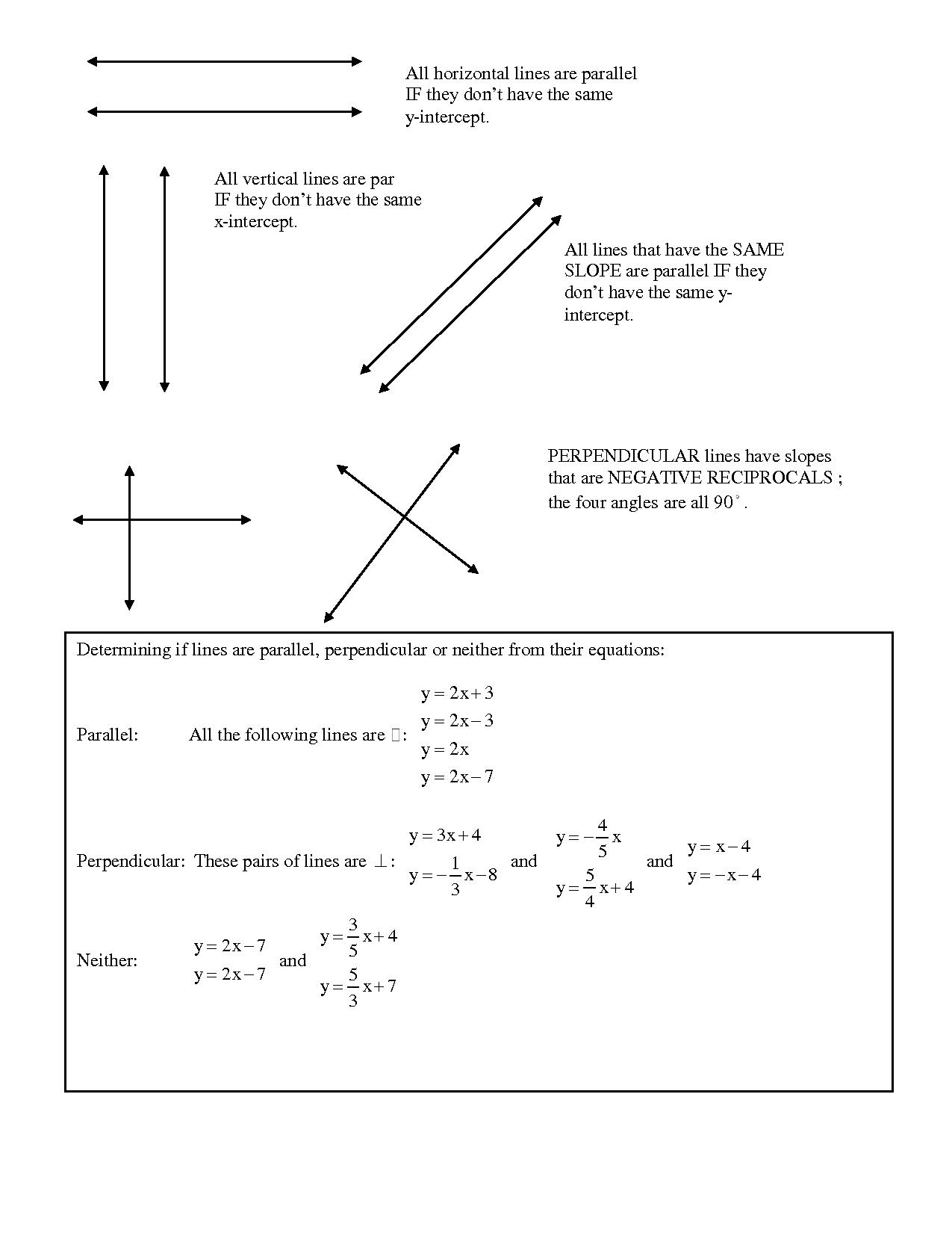 13 Best Images Of Intersecting Lines Worksheet