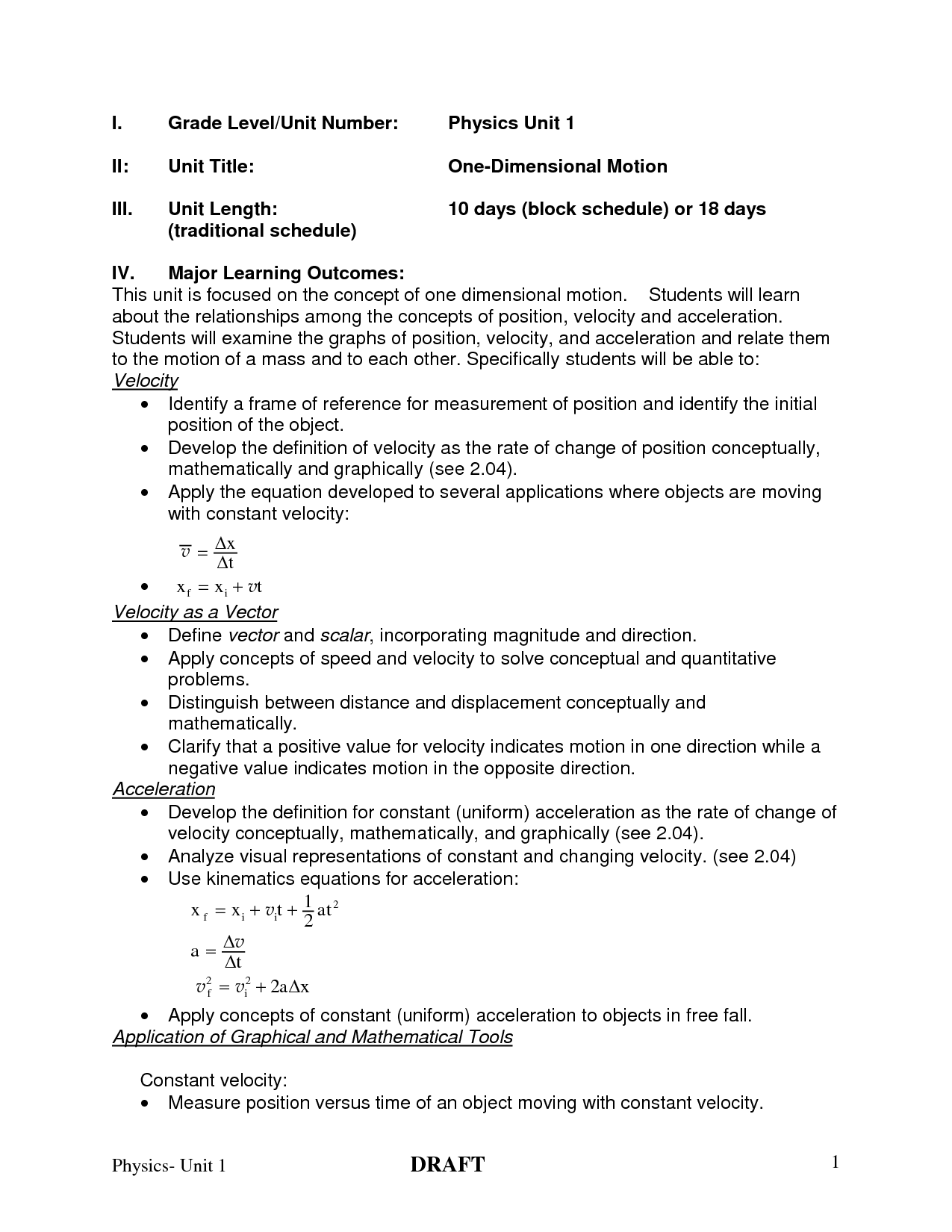 8 Best Images Of Acceleration Problems Worksheet