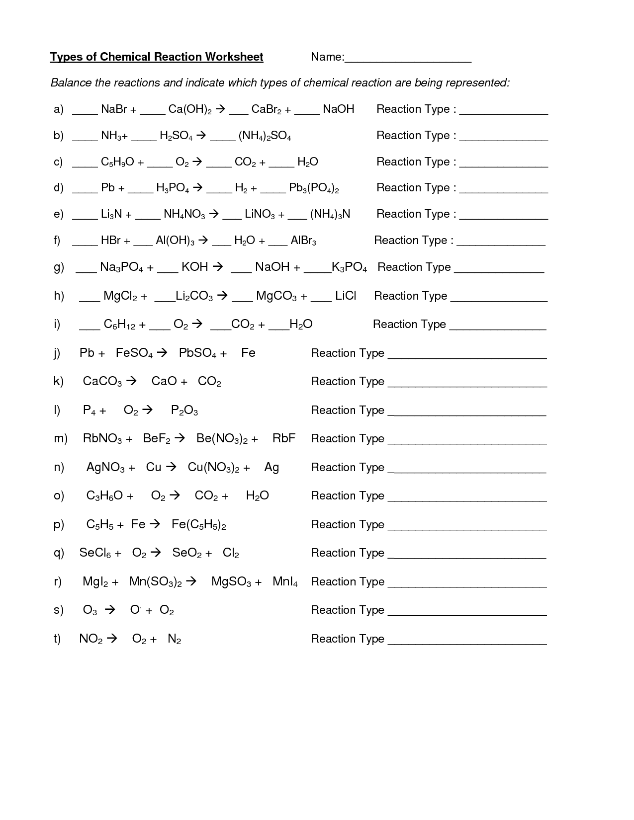 Ged Worksheet Answers