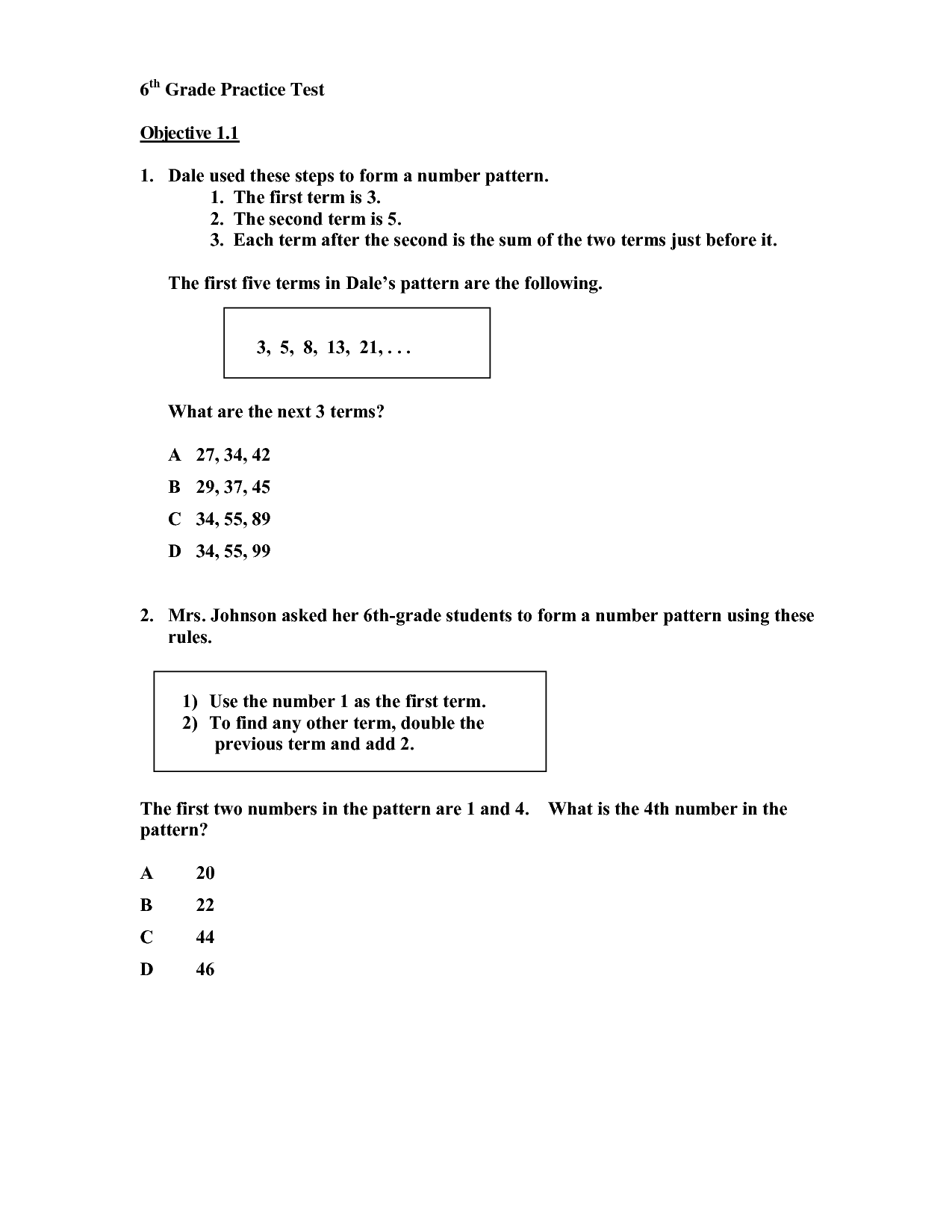 Line Plots 5th Grade Common Core Worksheets