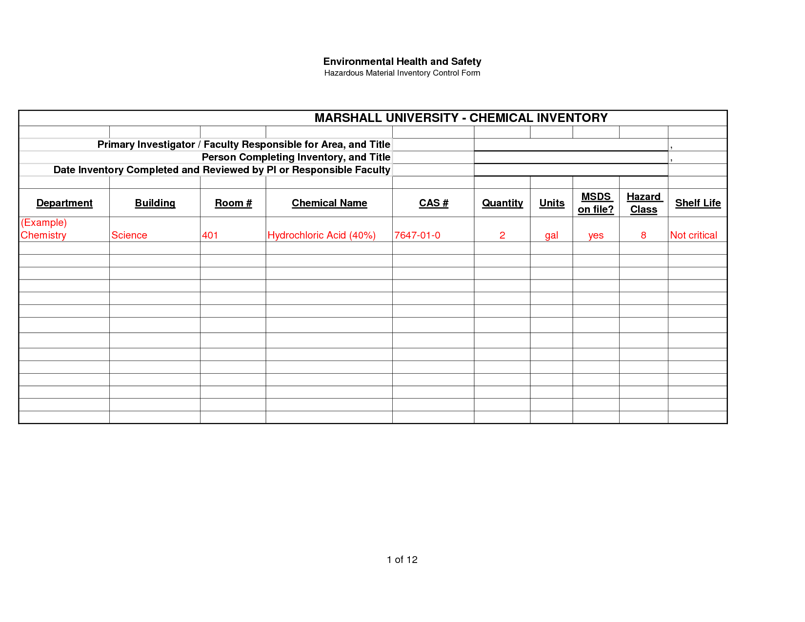 17 Best Images Of Bakery Inventory Worksheet