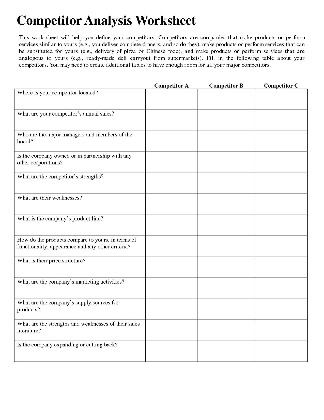 13 Best Images Of Art Critique Worksheet