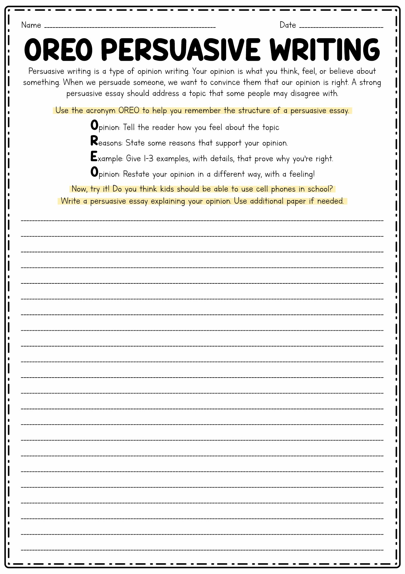 How To Write A Persuasive Paragraph Persuasive Paragraph