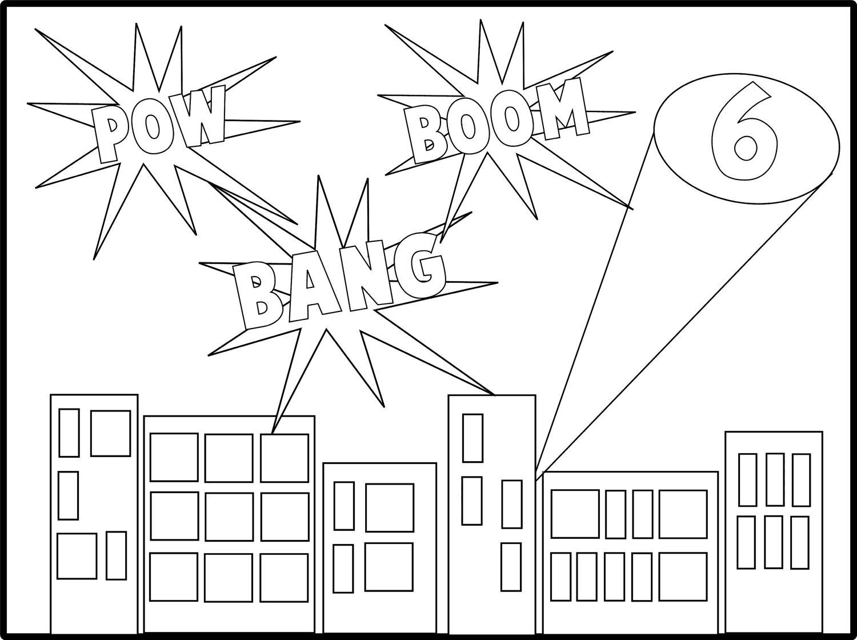 18 Best Images Of Superhero Worksheets Name