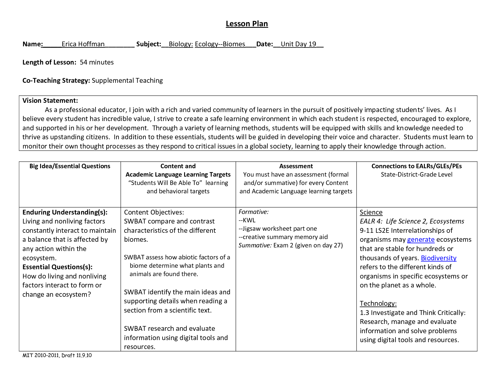 Agriculture Worksheets High School