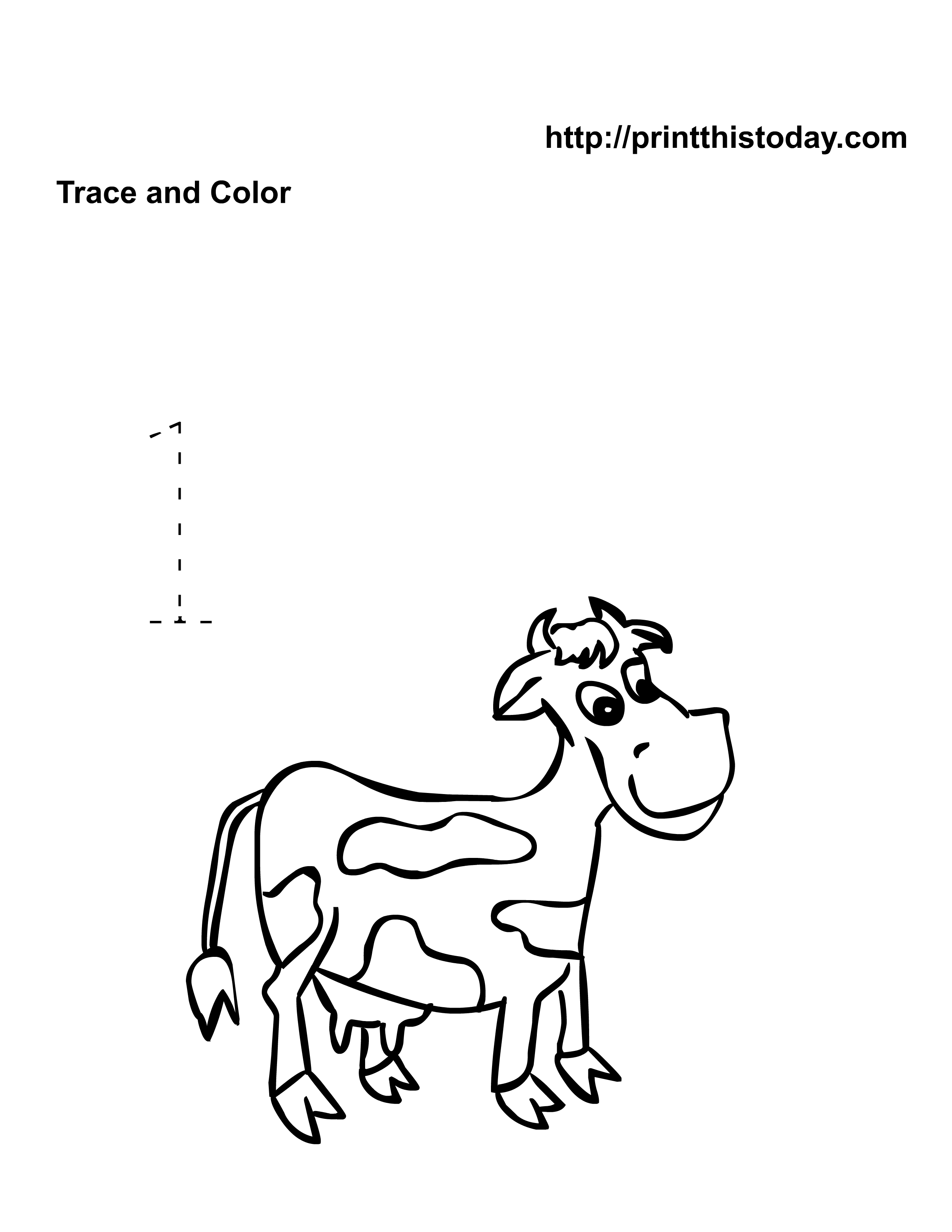 9 Best Images Of Horses Math Kindergarten Worksheets