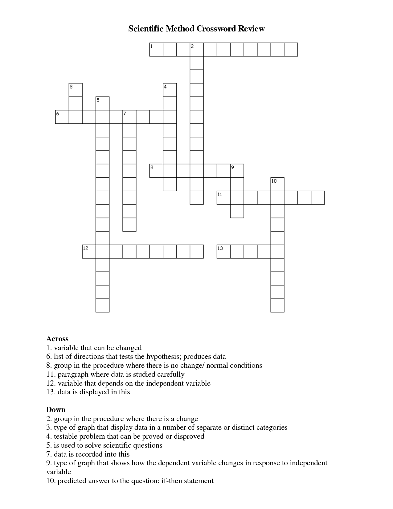 Search Results For Crossword Puzzle Math 8th Calendar