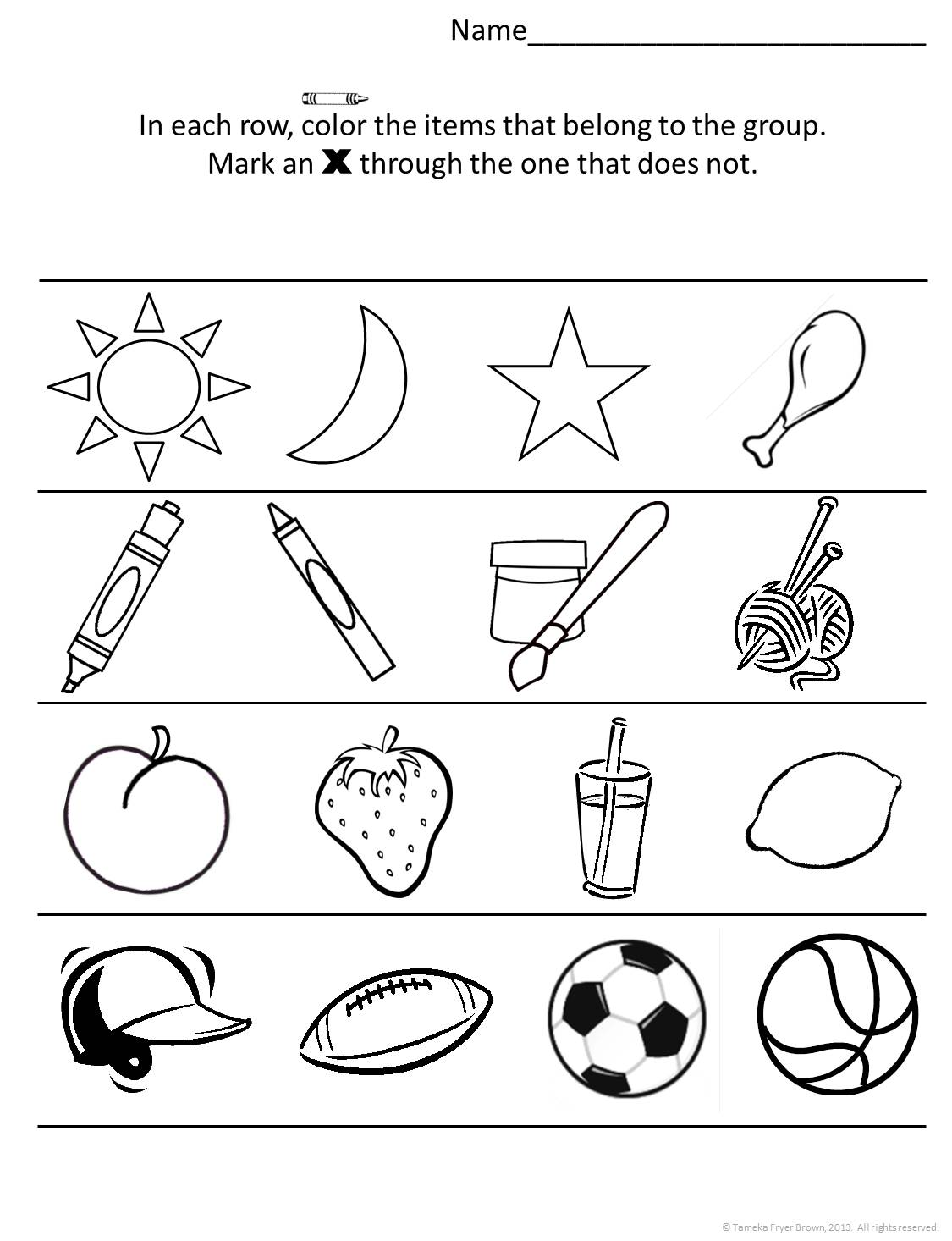 10 Best Images Of What Shape Does Not Belong Worksheet
