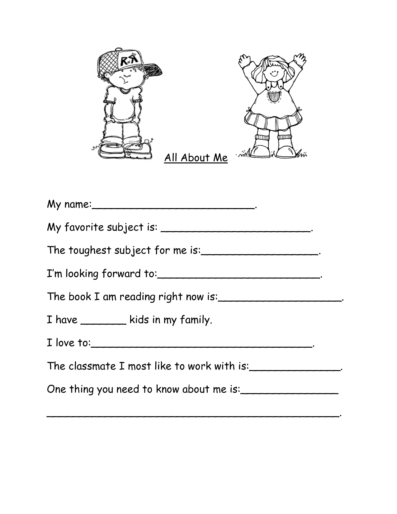 12 Best Images Of Spanish Family Vocabulary Worksheet