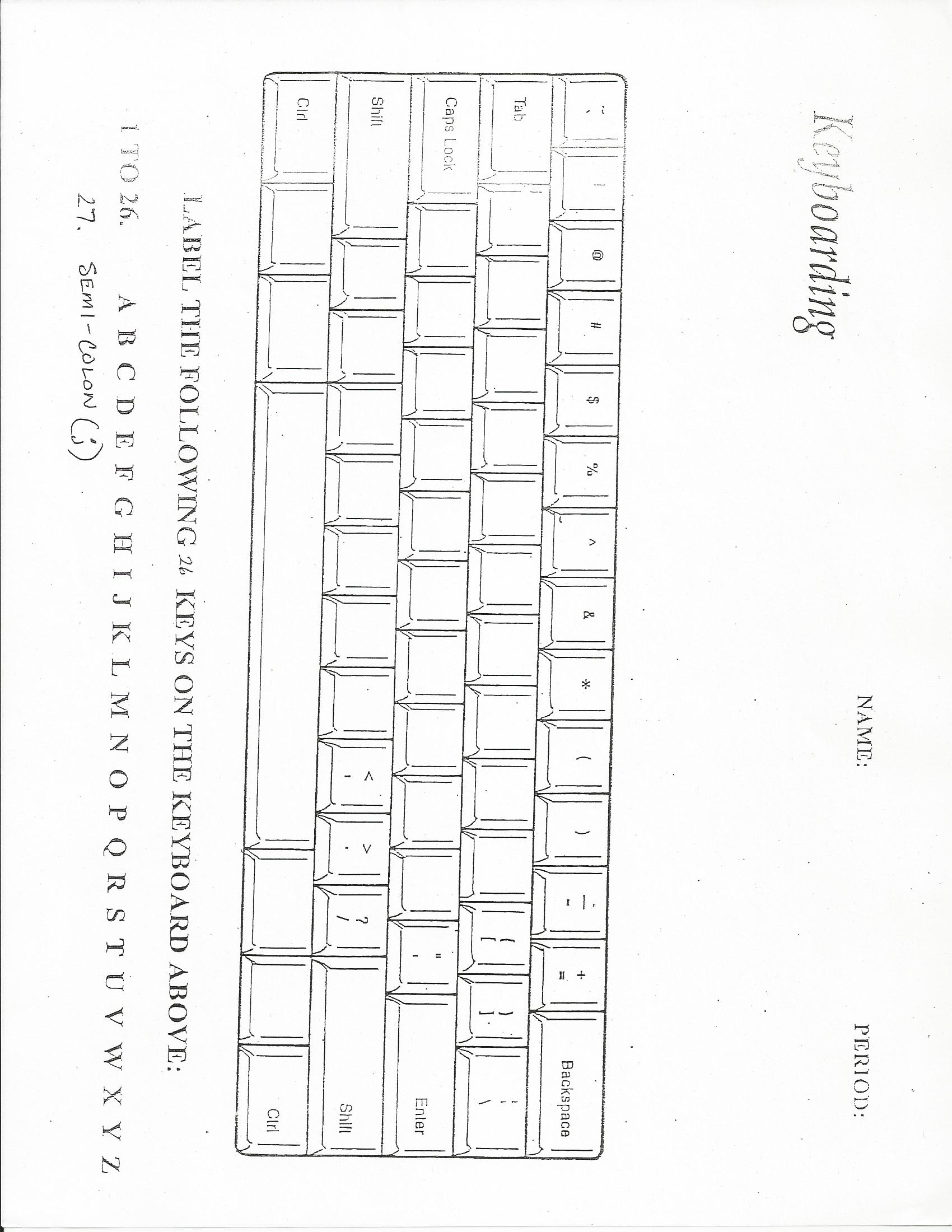 16 Best Images Of Keyboarding Worksheets For Students