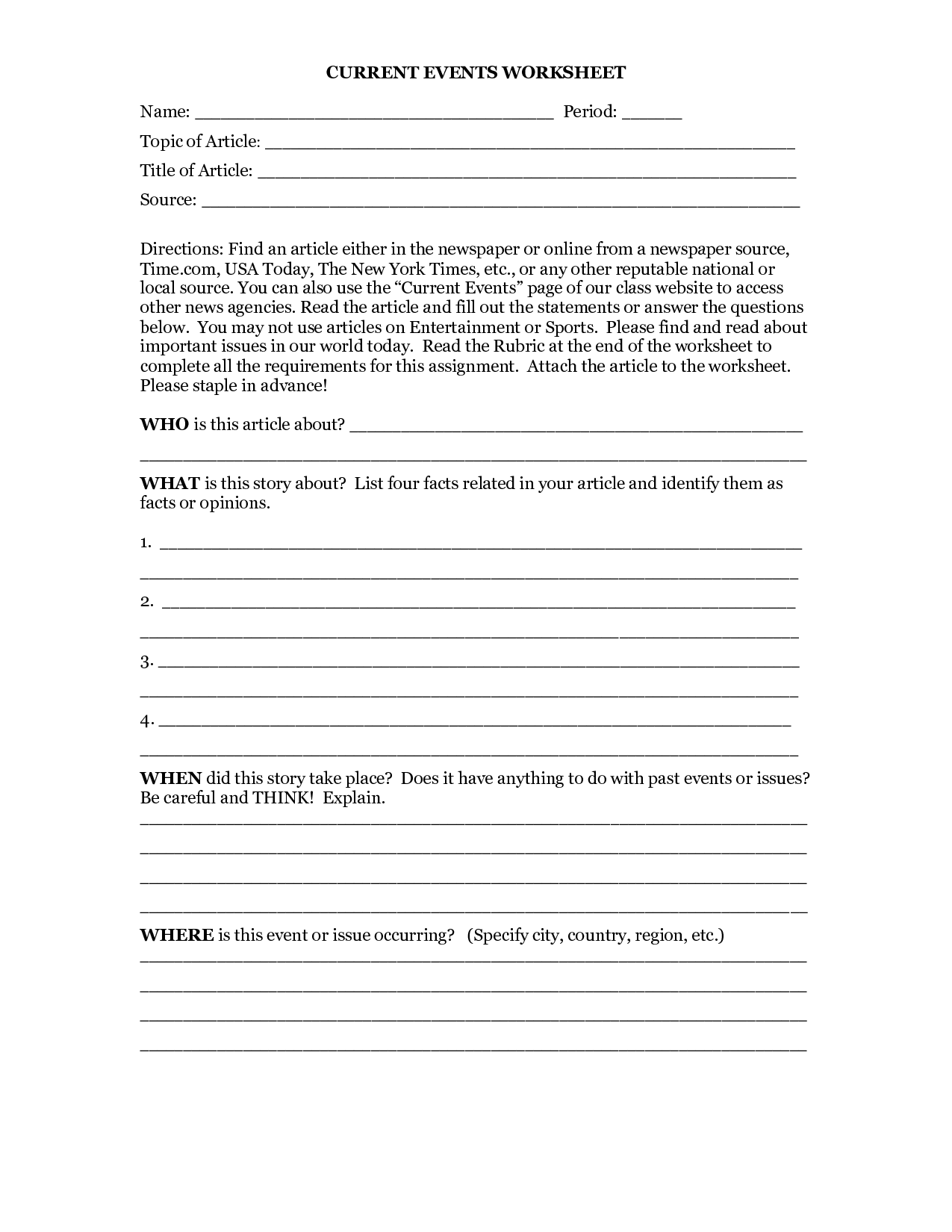 Dna Worksheet Elementary