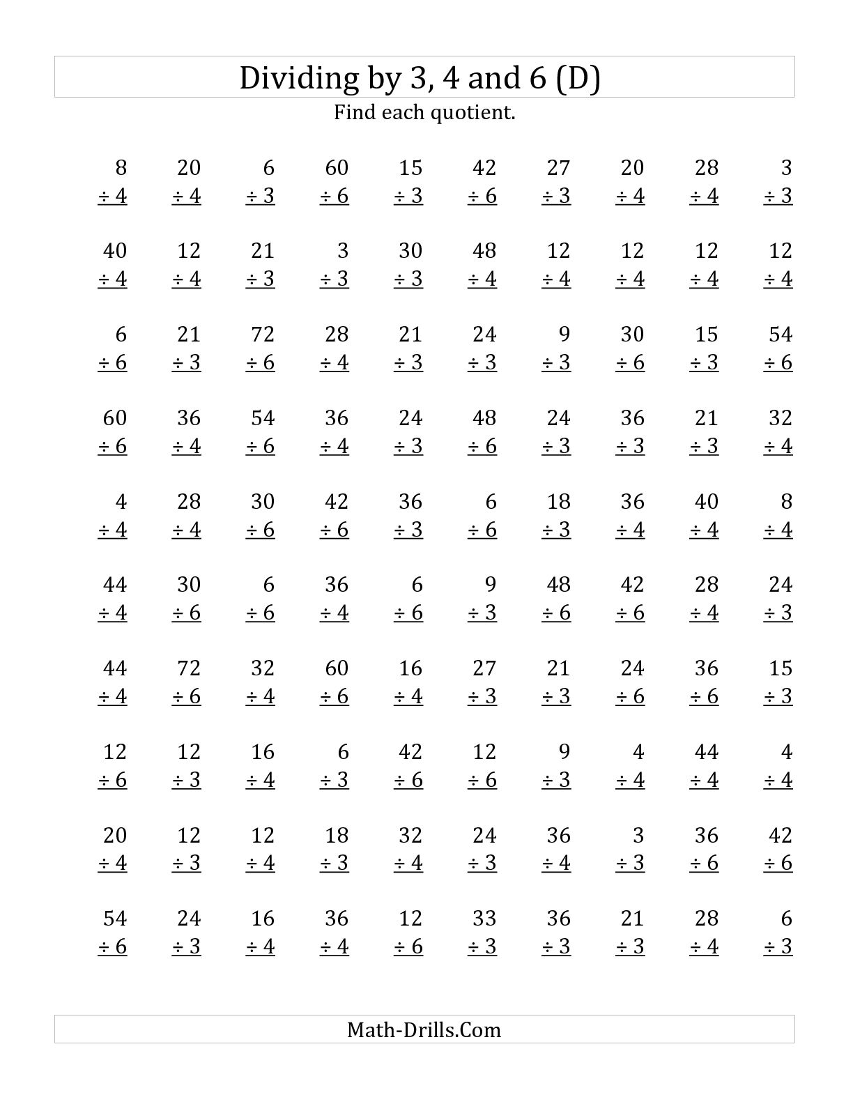 10 Best Images Of 3rd Grade Multiplication Worksheets For