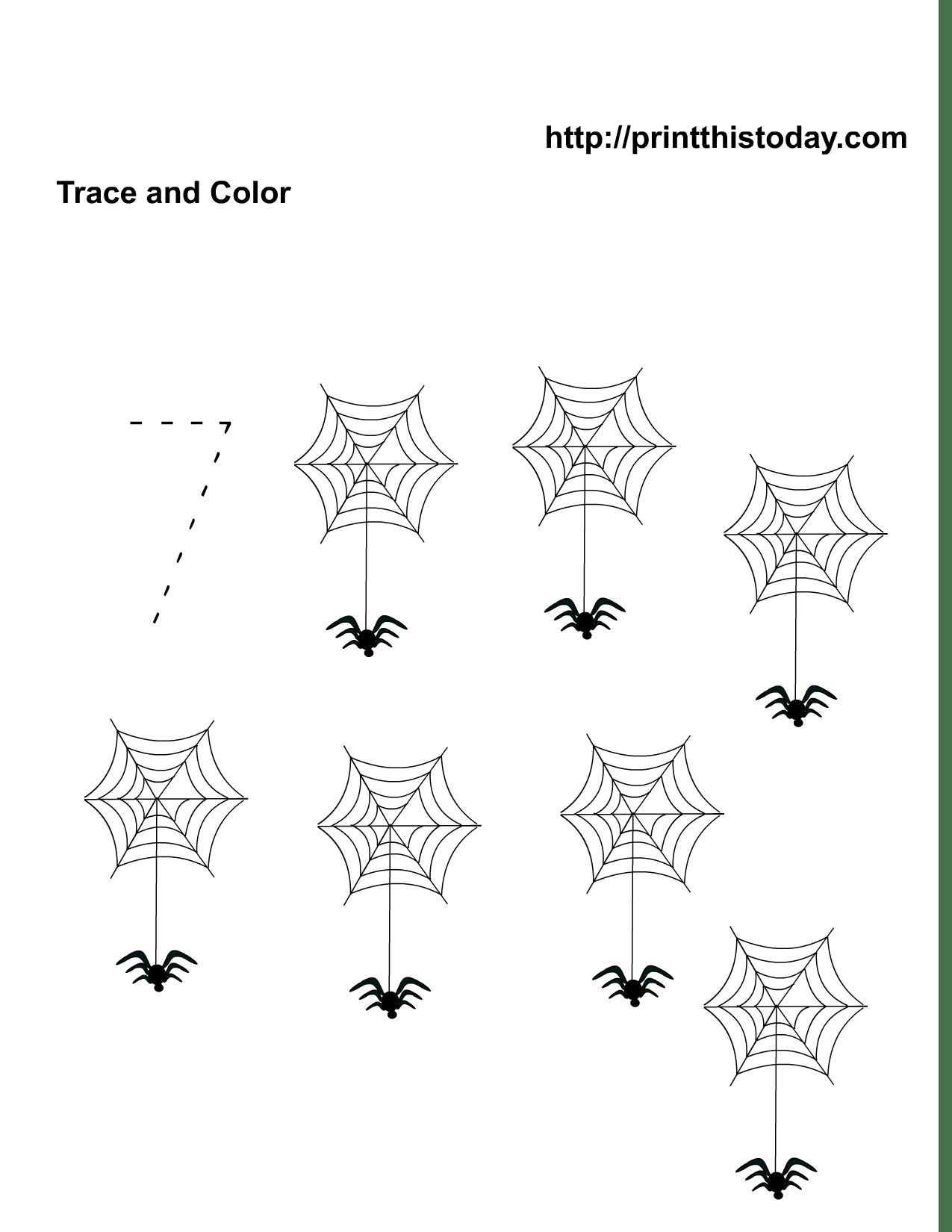 11 Best Images Of Free Halloween Worksheets Kindergarten