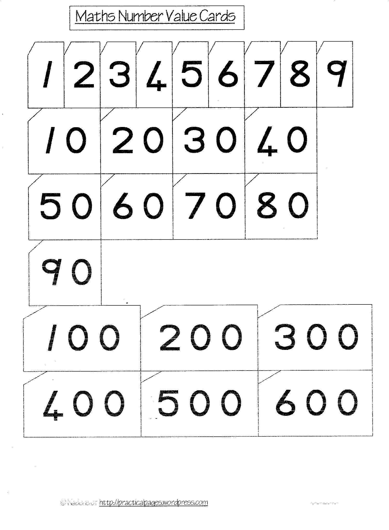 13 Best Images Of 10 Number Bonds To 100 Worksheets