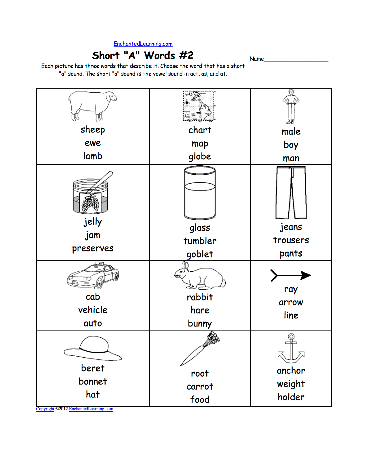 10 Best Images Of Short Letter I Worksheets