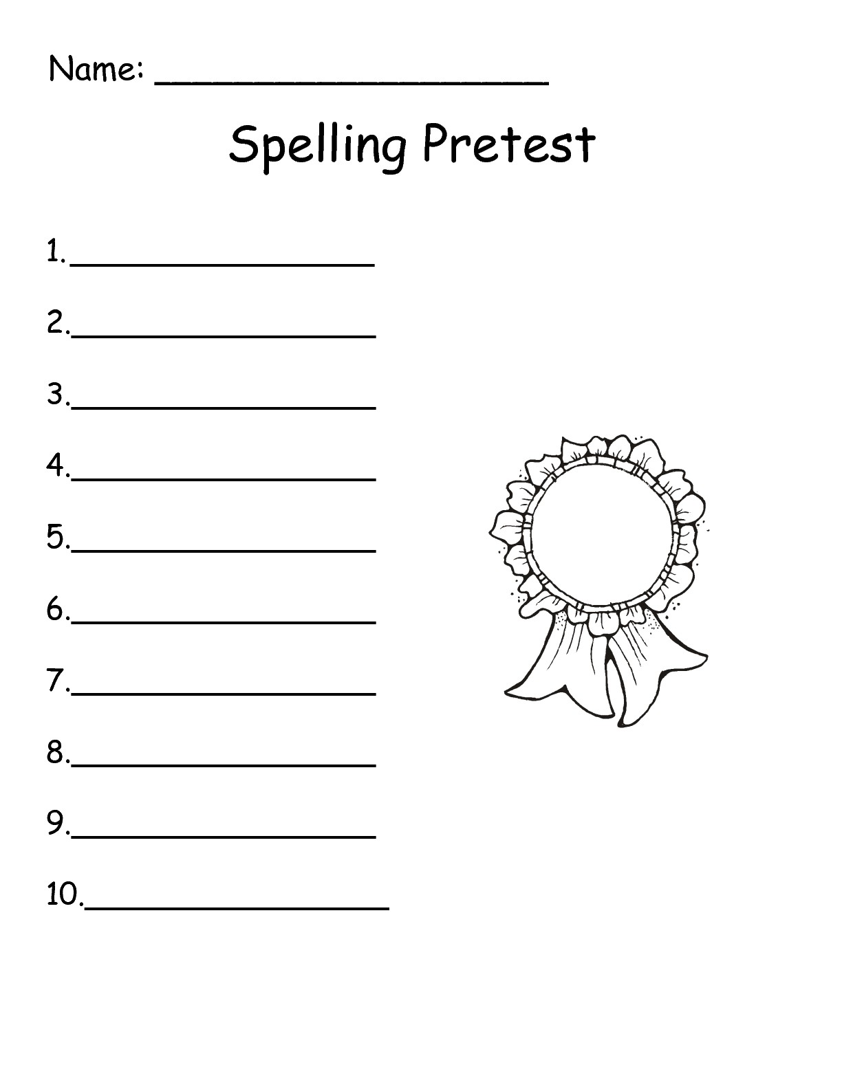15 Best Images Of 3 Grade Spelling Worksheets