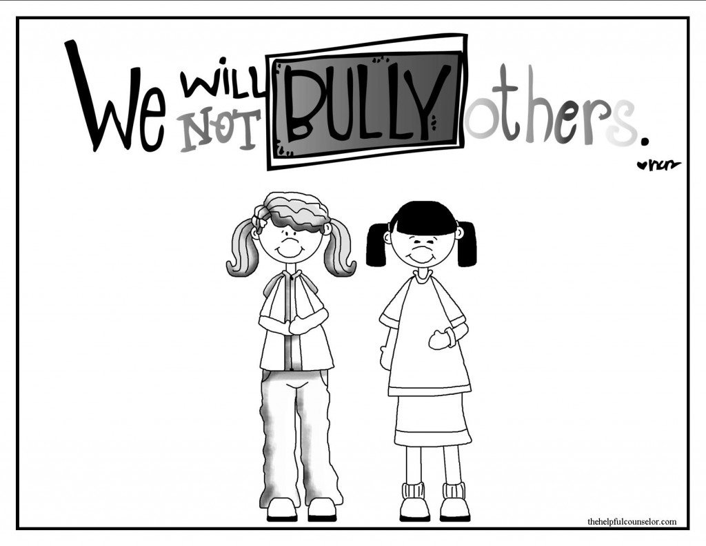 16 Best Images Of Kindergarten Bullying Worksheets