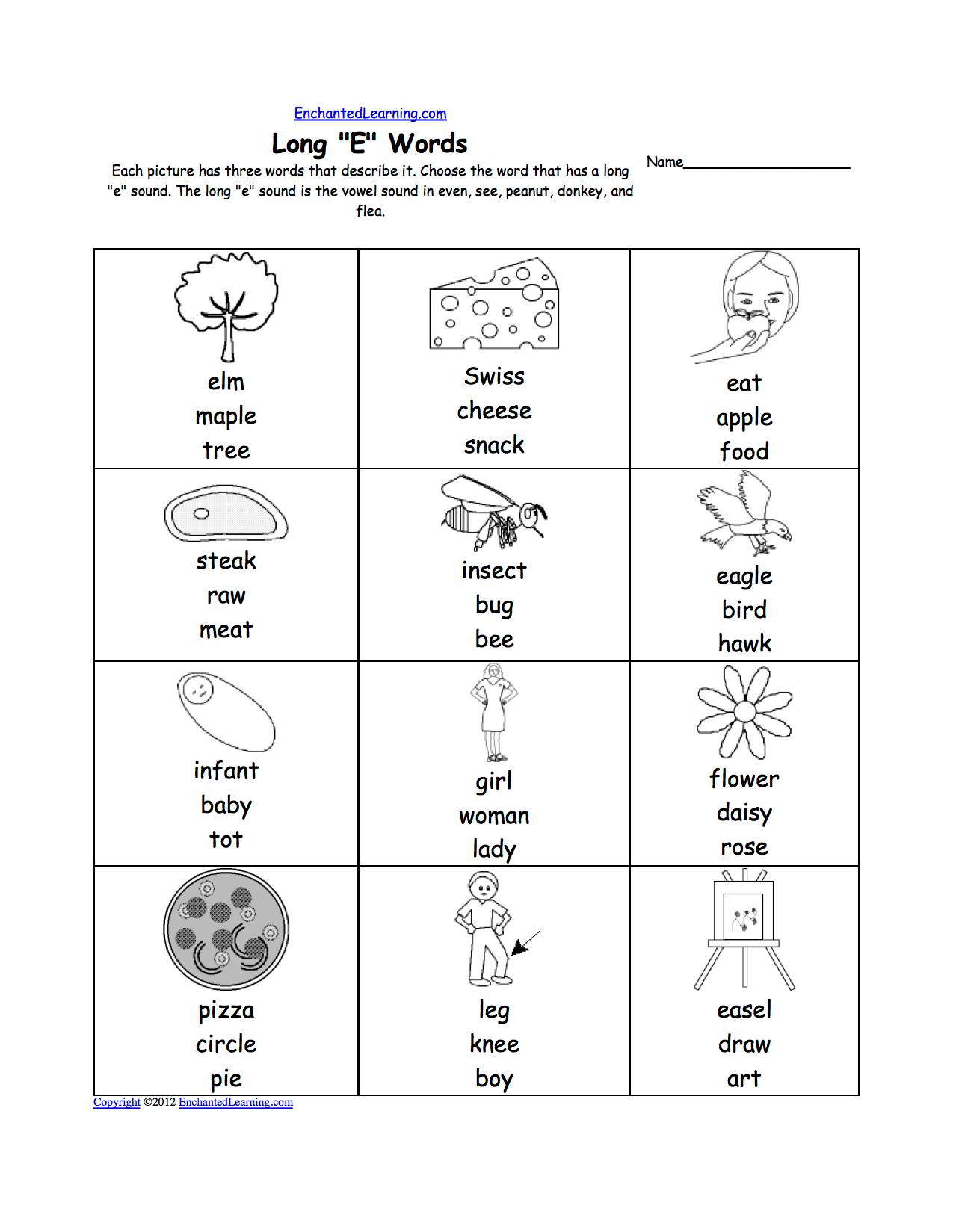15 Best Images Of Short E Sound Worksheets