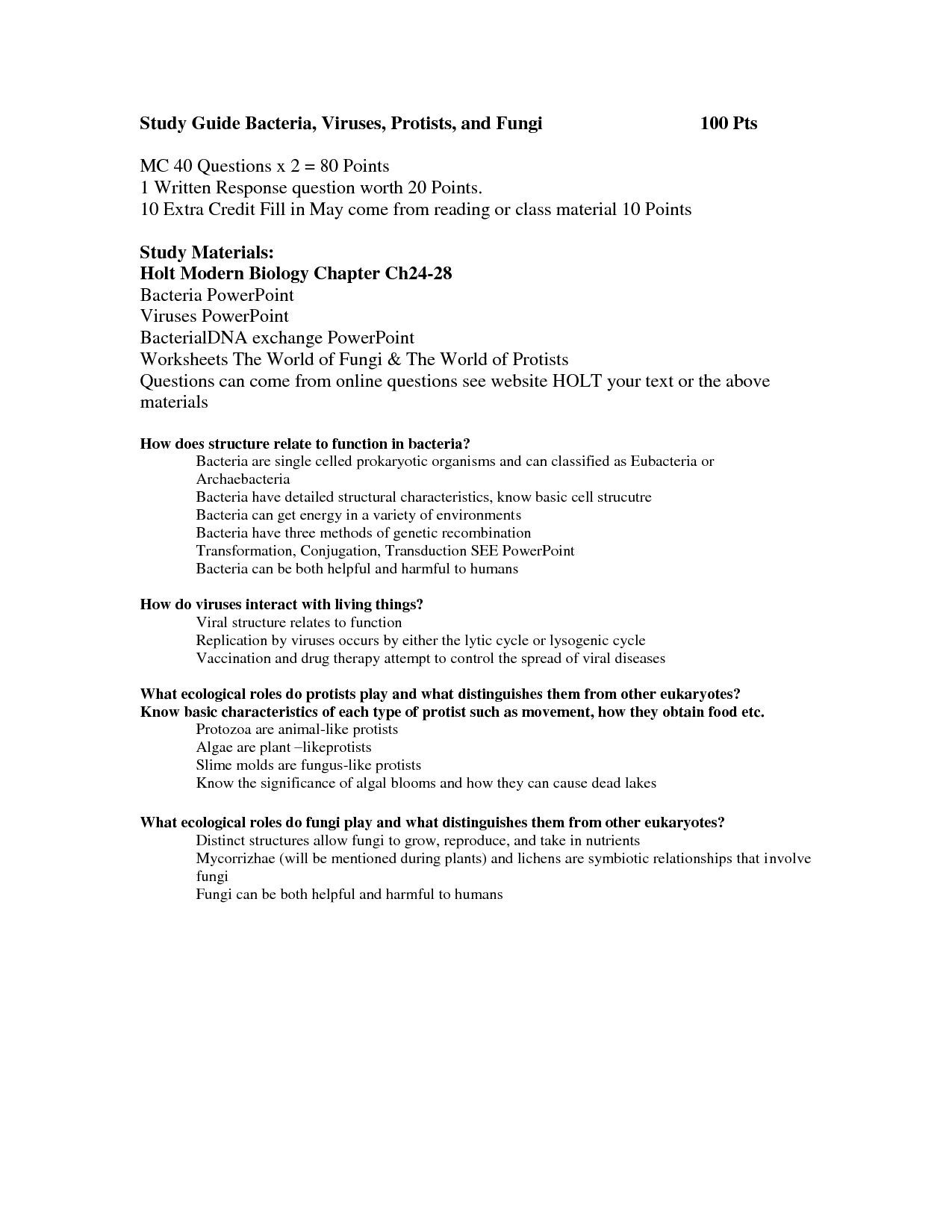 Worksheet Virus And Bacteria Worksheet Grass Fedjp Worksheet Study Site