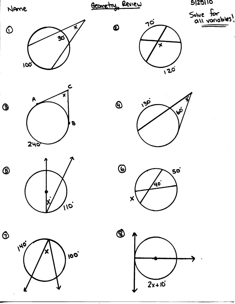 Image Result For Worksheets On Angles