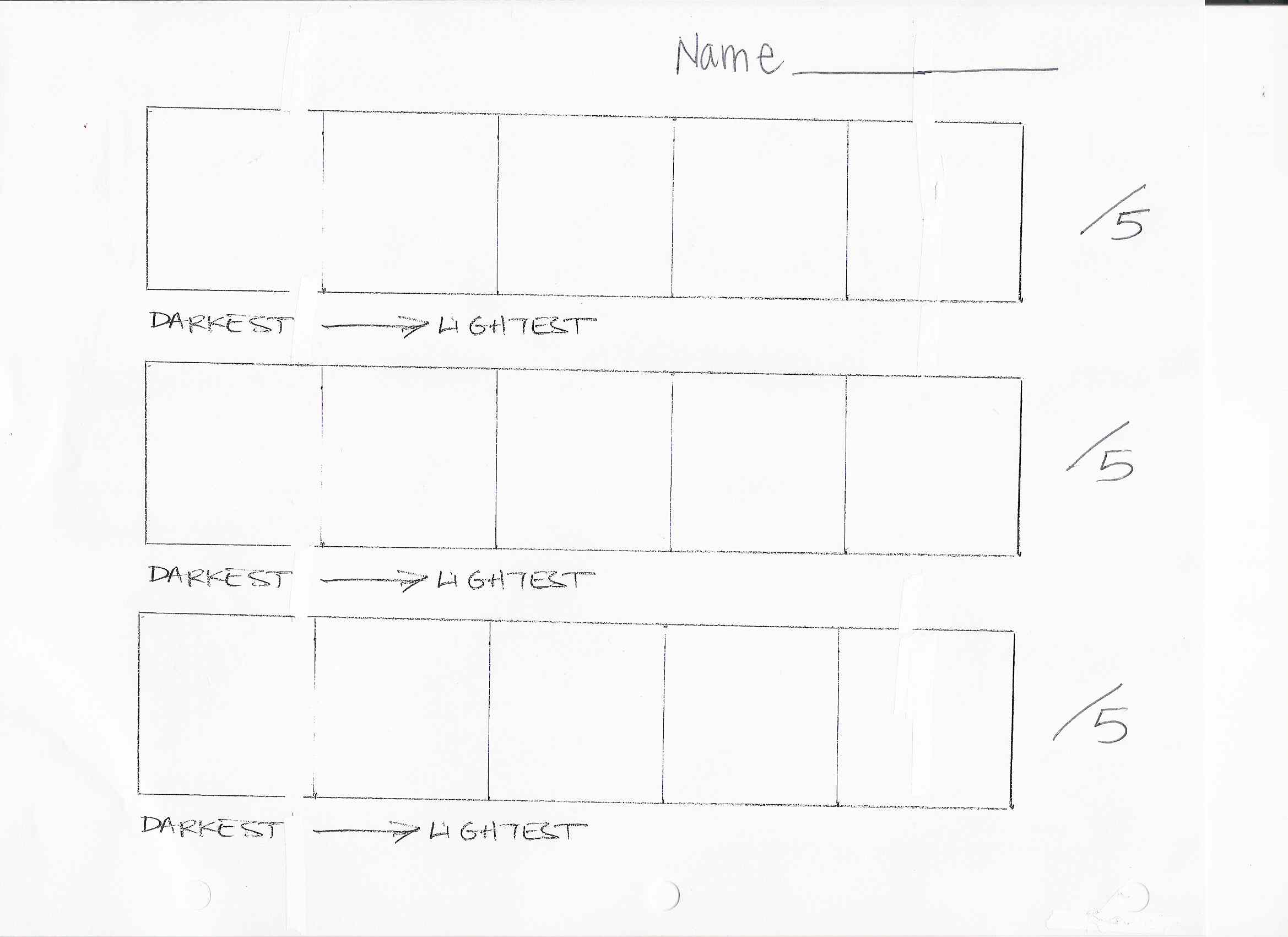 Value Drawing Worksheet Todd Stahl 45 Revolutions Per Minute September Ink Value Drawing