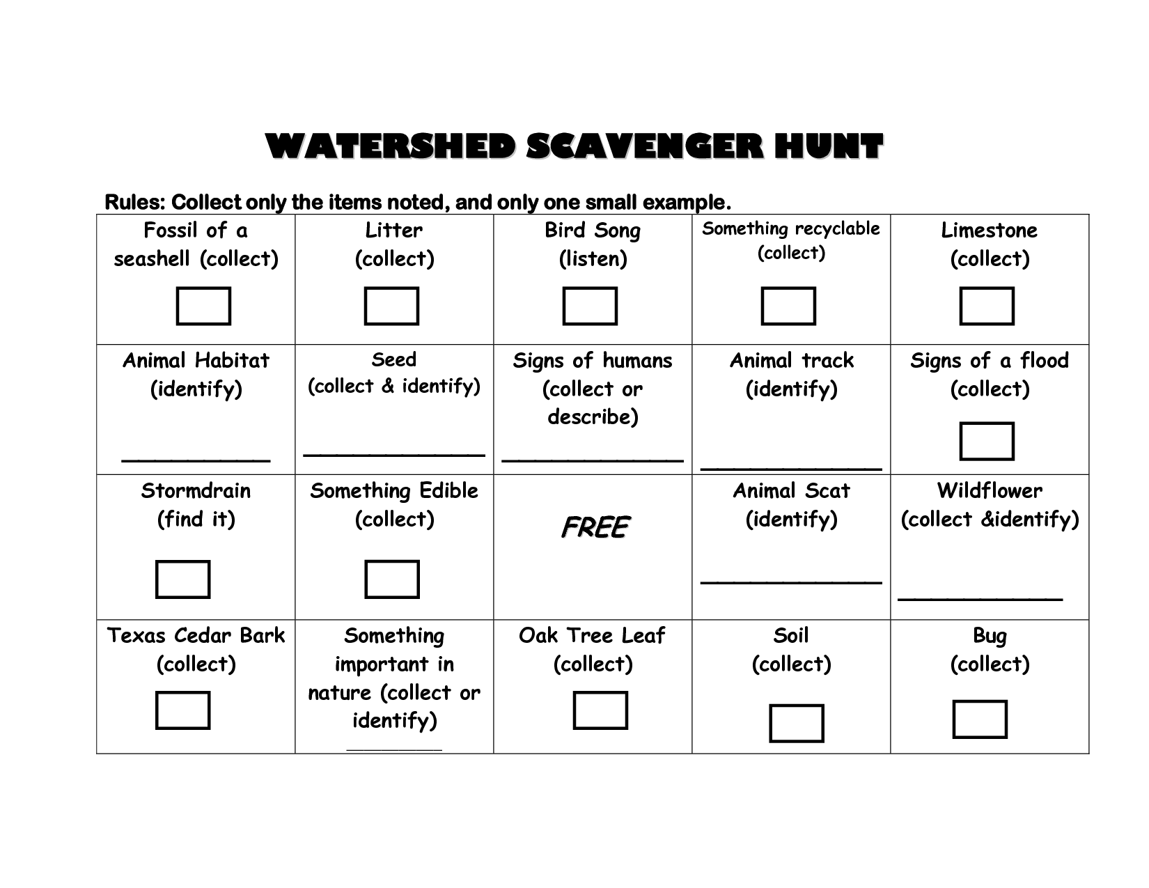 7 Best Images Of Poetry Scavenger Hunt Worksheet