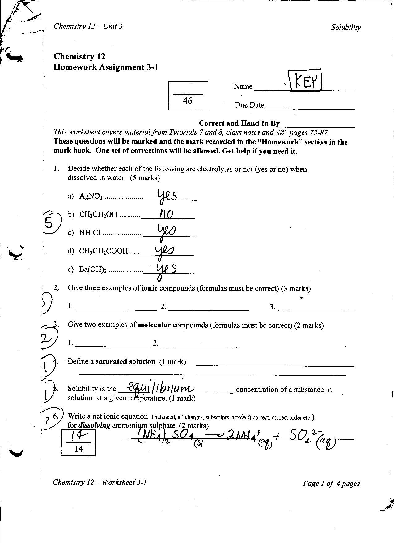 14 Best Images Of Conjugation Worksheet 2 Answers