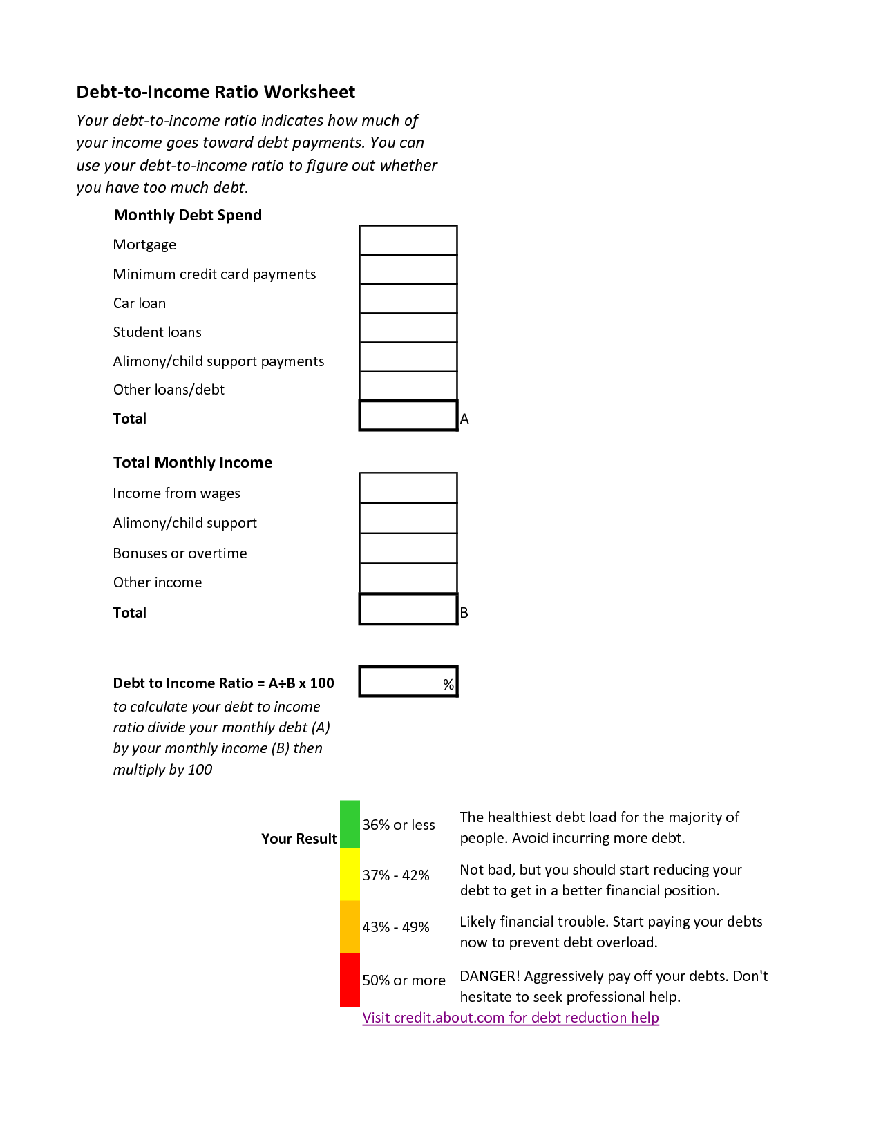 Irs Itemized Deductions Worksheet Printable