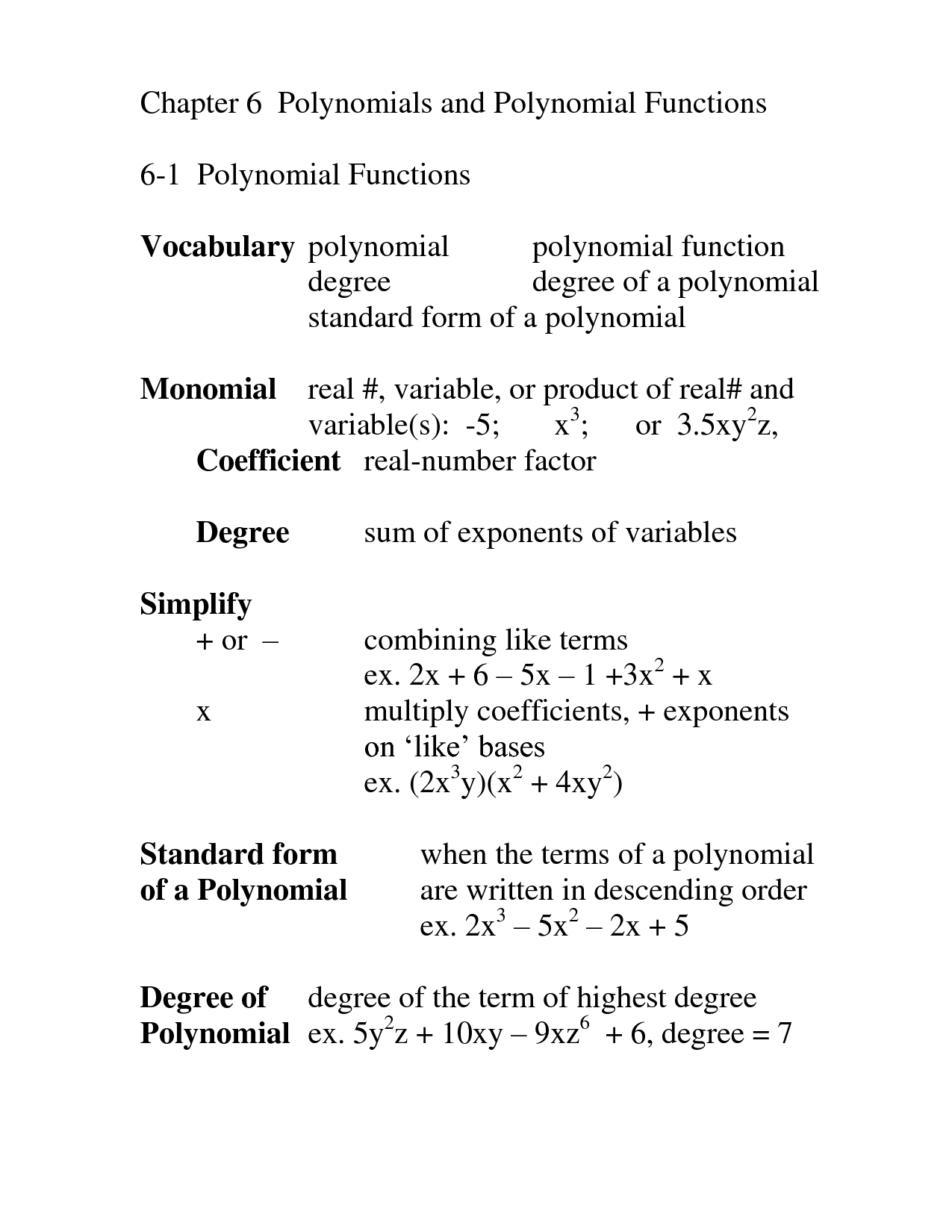 9 Best Images Of Polynomial Equations Worksheet