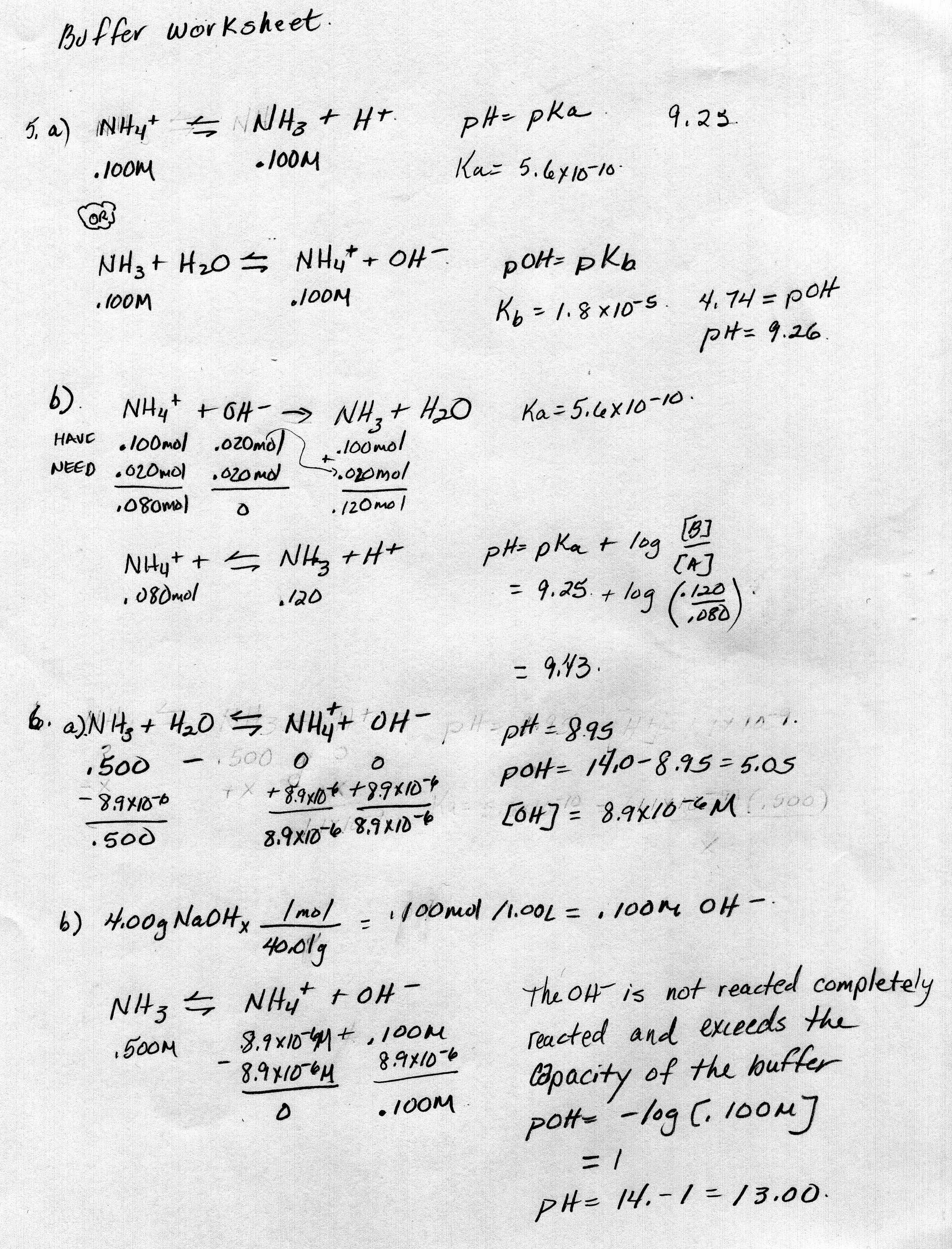 Solubility Worksheet Chemistry Answer Key
