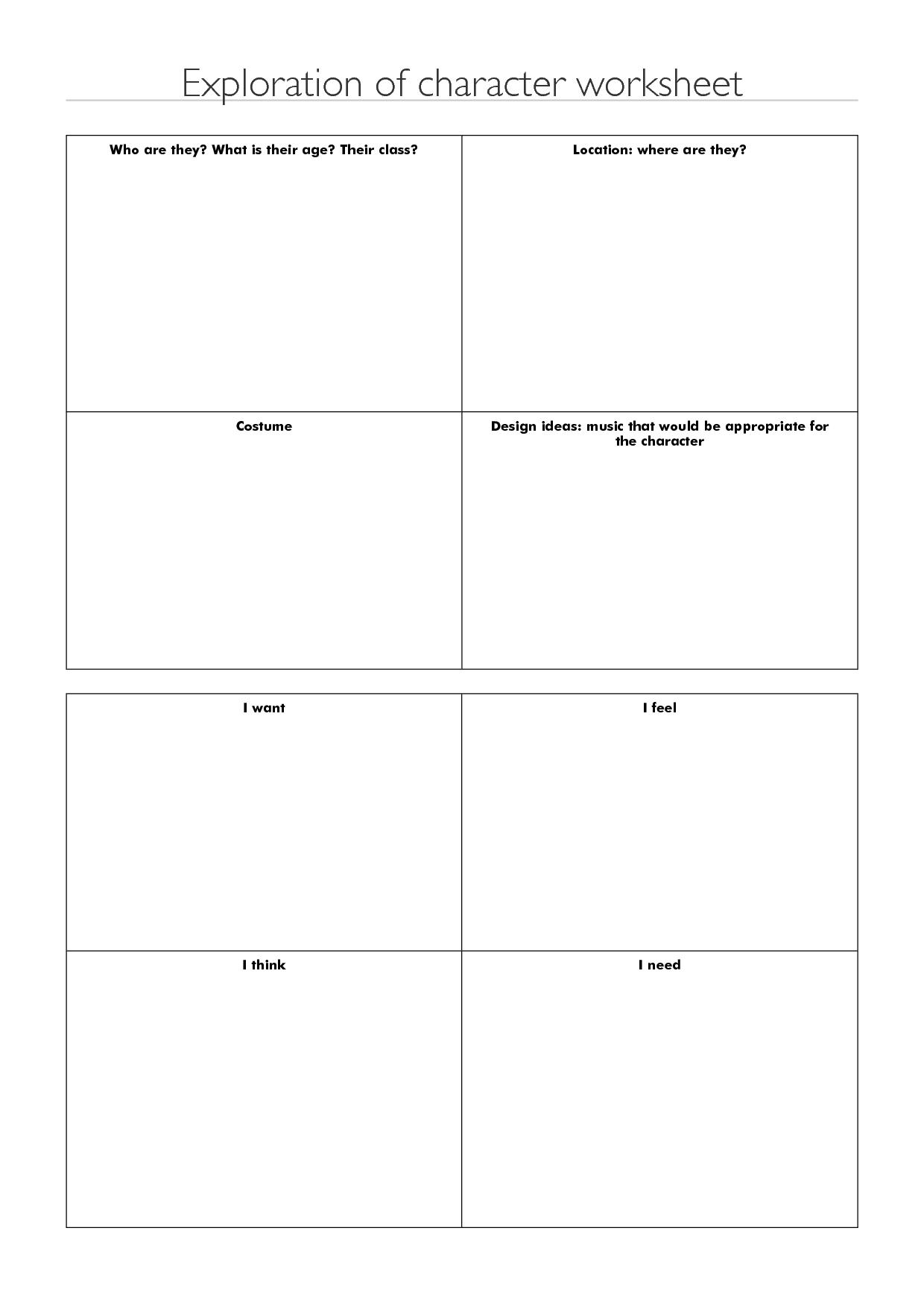 12 Best Images Of Career Exploration Printable Worksheets