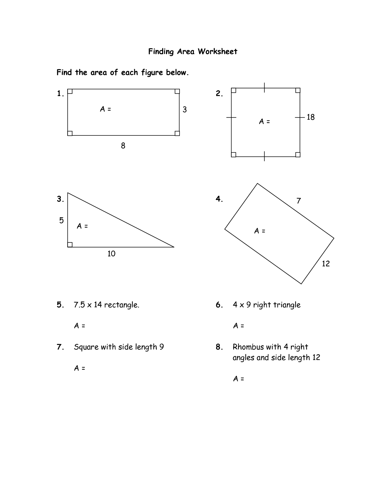 11 Best Images Of Irregular Area And Perimeter Worksheets
